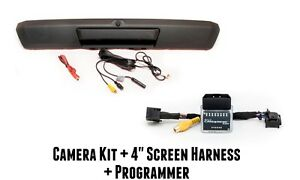 Ford F250 F350 Tailgate Handle Reverse Camera Kit For Sync 4 2 Screen 2017