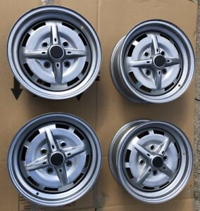 Porsche 914 Factory Steel Wheels Nice