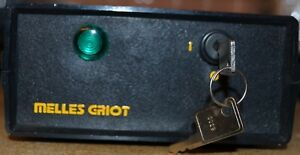Melles Griot 25 lgr 173 249 Green Laser W Power Supply And Keys