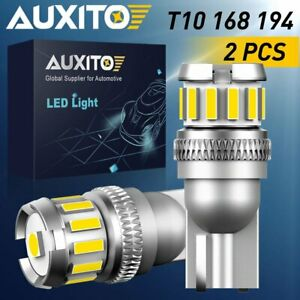 2x Auxito T10 2825 168 194 W5w Led Map License Marker Cargo Wedge Light Bulb 18a
