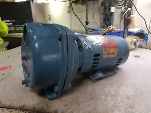 Rebuilt Goulds 3 Hp Water Well Jet Pump 208 220 440 Vac 3450 Rpm 1 5 X 2 Xsh33