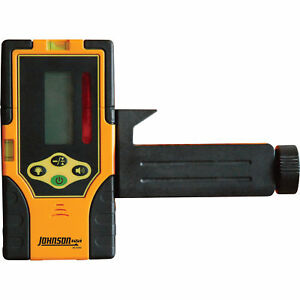 Johnson Level 2 sided Green Beam Detector With Clamp Model 40 6763