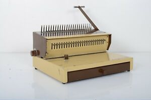 Southwest Heavy Duty Manual Industrial Comb Paper Hole Punch Binding Machine