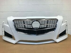 2014 2017 Cadillac Cts Front Bumper 22753171 17
