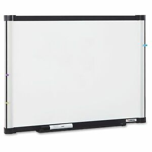 Lorell Magnetic Dry erase Board 72 Width X 48 Height Aluminum llr52513