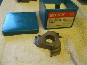Bosch Shaper Cutter Carbide Tipped 3 4 Bore 87996 Ogee Nos