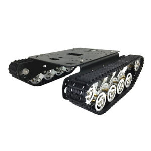 Tank Toys Chassis smart Robot Chassis Kit engineering Plastic Track Crawler