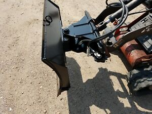 New 42 4 Way Dozer Blade Plow For Mini Skid Steer Fits Dingo Ditch Witch