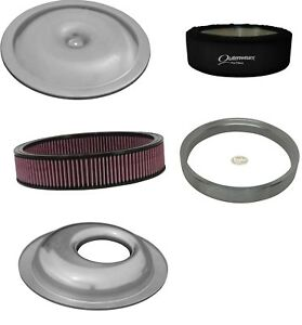 Offset Air Cleaner Housing Kit Washable 14 X 4 Filter Sure Seal Outerwear