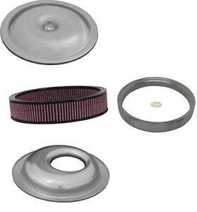 Offset Air Cleaner Housing Kit Washable 14 X 4 Filter Sure Seal
