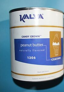 Ice Cream Cone Dip Top Peanut Butter Candy Crown Coating Ice Cream Stand 10 Can