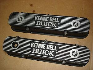 1968 1969 1970 Buick Gs Kenne Bell Big Block Valve Covers Gran Sport Stage 1 2