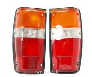 1 Pair Tail Lights Standard Lamp For Toyota Hilux Pickup Ln50 Mk2 1984 1988