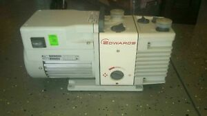 Edwards Rv3 Rotary Stage Dual Stage Vacuum Pump