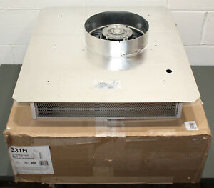 Broan Exterior Blower Ventilator 331h Exhaust Fan 600 Cfm 120v Wall Or Roof