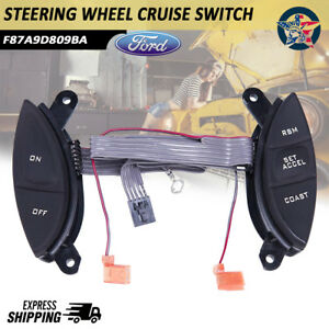 Steering Wheel Cruise Control Switch For Ford Explorer Sport Trac Ranger 98 05 R