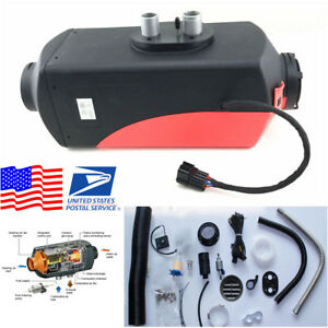 Usa Stock 5000w 12v Air Diesel Fuel Heater Kit Compact Parking Heater Car Truck