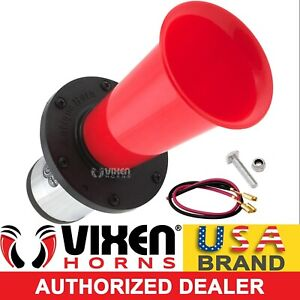 Loud Ahooga Ooga Antique Vintage Classic Old Car Truck Air Horn 12v Red Vxh1002r