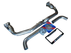 Top Speed Pro 1 Straight X Pipe Exhaust For 2000 2005 Porsche 996 Turbo Gt2