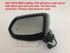 2017 2018 Cadillac Xt5 Left Side Mirror With Blind Spot And Auto Dim 84116741 1