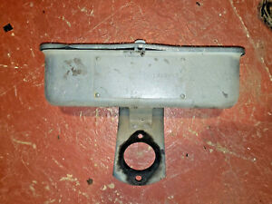 Vintage Case Model L Tractor Tool Box An Bracket Ji Case Tool Box Part