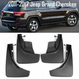 Oe Front Rear Set 4 Pcs Splash Mud Guards Flaps For 11 17 Jeep Grand Cherokee