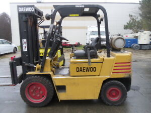 Used Pneumatic Forklift 1997 Daewoo G30s 2 6000