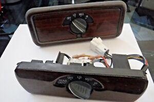1996 1999 Chevolet Tahoe Gmc Yukon Rear Ac Control Switches With Wood Grain Trim