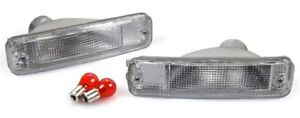 Clear Bumper Signal Lights Depo Fits 88 89 Honda Civic Ef Crx Pair