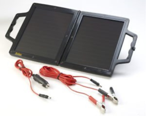 12v 4 Watt W Solar Panel Fold Up Briefcase Battery Trickle Charger