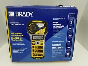 Brady Bmp 21 plus Label Maker Printer Hard Case Li ion Battery Bundle Kit