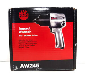 Mac Tools Impact Wrench 1 2 Square Drive Aw245 Drive Air Pneumatic Wrench Nib