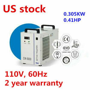 S a Cw 5000 Industrial Water Chiller For 3w 5w Ultraviolet Laser Laboratory