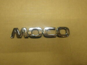 Moko Mg21s Mg22s Genuine Rear Emblem Moco