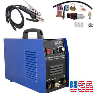 usa 3in1 Ct312 Tig mma Air Plasma Cutter Welder Welding Torch Machine Multi use