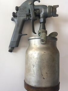 Binks Model 17 Thor Paint Spray Gun Air Tool Nozzle Devilbiss Cup