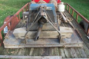 Finish Mower 3point Pto Drive 5 Foot Ford Tractor Farm Mower