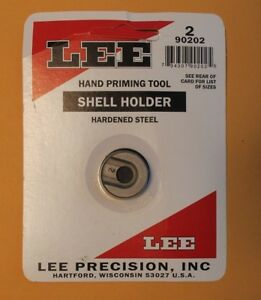 Lee Precision Shell Holder for Hand Priming Tool # 2 New Unused Item 90202