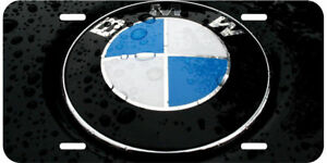 Bmw Logo License Plate Cover Vanity Novelty Decorative Car Auto Tag 66