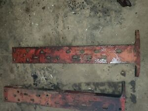 Farmall Super M Sm Mta Tractor Frame Rails Set Ihc Parts
