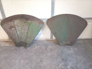 Oliver 88 Tractor Fenders 77 Rat Rod Fender Decor Part Farm Tractor Parts Set