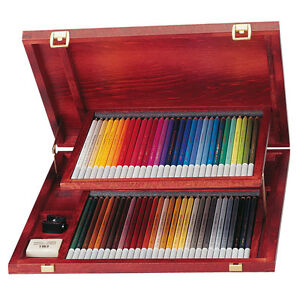 Stabilo Carbothello Colouring Pencils Wooden Case Of 60
