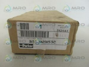 Parker B51jach53c Solenoid Valve new In Box