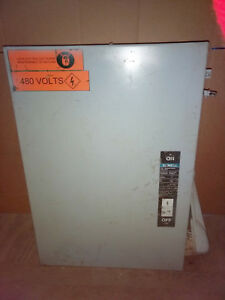 1 Used Siemens I t e Nf355h Heavy Duty Enclosed Switch 400a make Offer