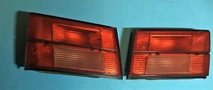 Bmw Left And Right Trunk Tailights E34 M5 525i 535i 540i 63211379398