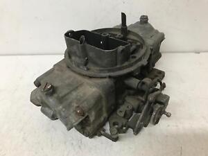 Used Holley Carburetor 4776 Double Pumper Dual Feed Square Bore 600 Cfm