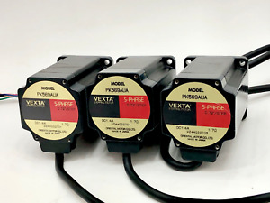 Lot Of 3 Vexta Pk569aua 5 Phases Stepping Motor Brand New