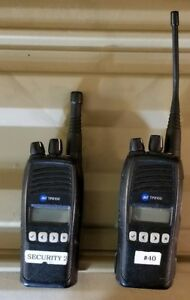 Two Tait Tp8100s For Parts