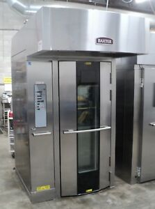 Baxter Rotating Rack Oven Ov500g1 ee Gas Bakery Single Rack Oven Refurbished
