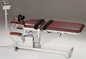 Chiropractic Saunders 3d Activetrac Decompression Table